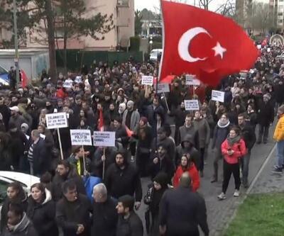 Almanya'da ırkçılık protestosu