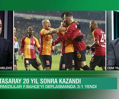 Cem Yılmaz ve Uğur Meleke, Galatasaray'ın Kadıköy'de Fenerbahçe'yi 3-1 yendiği derbiyi Gündem Spor'da değerlendirdi