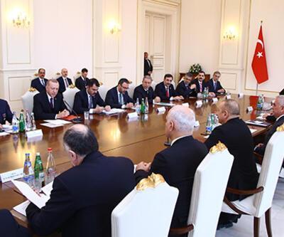 Cumhurbaşkanı Erdoğan: Hedef ticaret hacmimizi 15 milyar dolara çıkarmak