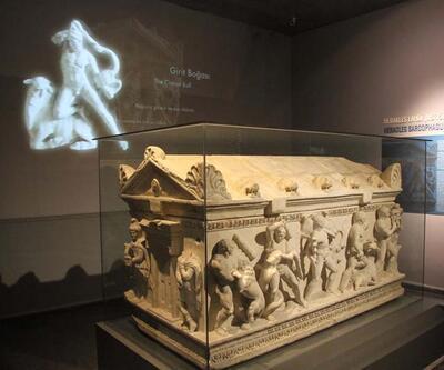 Herakles lahdi, müzede sergileniyor