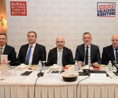 Merkez Bankası Başkanı Uysal, BTSO Yüksek İstişare Kurulu Toplantısı'na katıldı