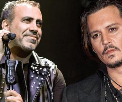 Haluk Levent'ten Johnny Depp'e gönderme!