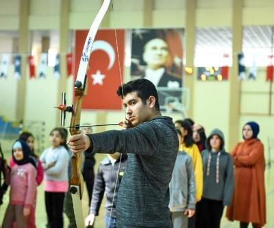 Altındağ'da 'okçuluk' eğitimine yoğun ilgi