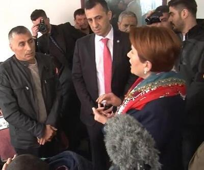Balıkesir'de Akşener'e HDP tepkisi