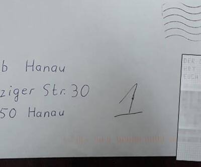 Almanya'da camiye ırkçı mektup