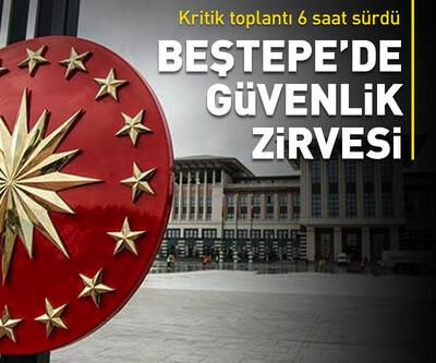 Ankara'da Erdoğan başkanlığında güvenlik zirvesi