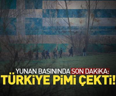 """""""Türkiye pimi çekti"""""""