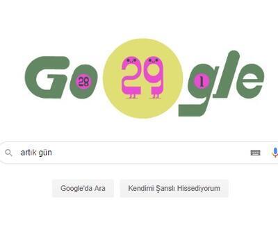 Artık gün Google'a doodle oldu