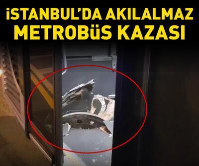İstanbul'da akılalmaz metrobüs kazası