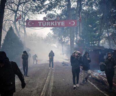 Yunan askerlerden göçmenlere sert müdahale
