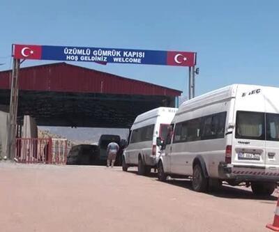 Irak'a açılan Üzümlü Gümrük Kapısı, giriş- çıkışlara kapatıldı