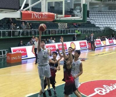 BGL'de TEKSÜT Bandırma BK, Gaziantep Basketbol'u mağlup etti