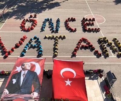 Silifkeli öğrencilerden Mehmetçiğe destek