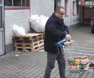 Almanya'da koronavirüs paniği: Market rafları hızla boşalıyor