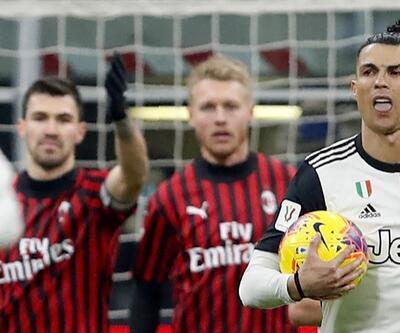 Juventus-Milan maçı ertelendi