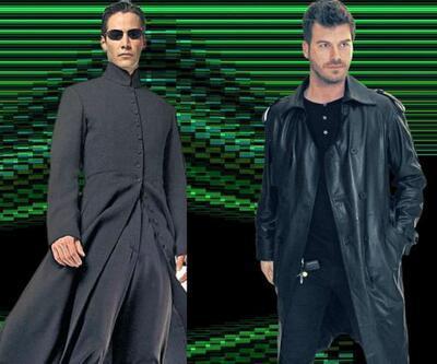 Kıvanç Tatlıtuğ'dan yeni moda: Matrix havası