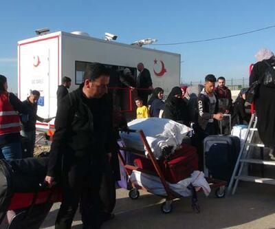 2 bin Suriyeli bayram için ülkesine gitti
