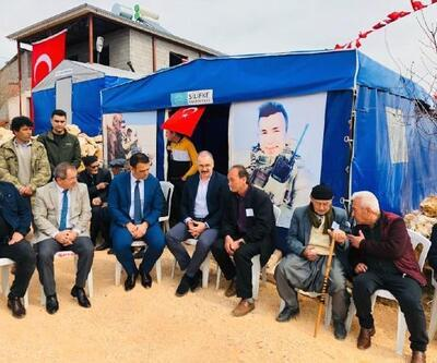 İdlib şehidi Osman Ak için mevlit okutuldu