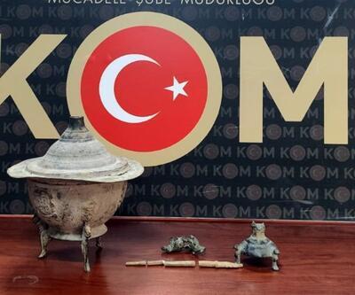 Tarihi eser kaçakçıları yakalandı: 3 gözaltı