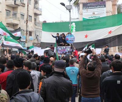 İdlib halkından Türkiye'ye teşekkür: Bugün bombardıman yok