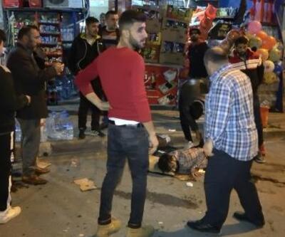 Göçmenlerin bıçaklı kavgası: 1 yaralı
