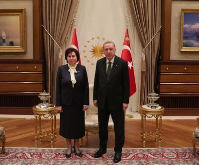 Danıştay Başkanı Güngör, Cumhurbaşkanı Erdoğan'a veda ziyaretinde bulundu