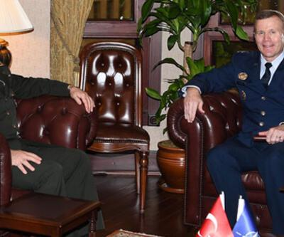 Genelkurmay Başkanı Orgeneral Güler, Orgeneral Wolters ile görüştü