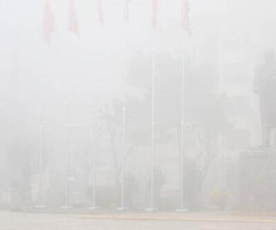 Düzce'de yoğun sis görüş mesafesini düşürdü