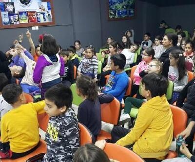 Edremit'te öğrencilere doğayı koruma eğitimi verildi