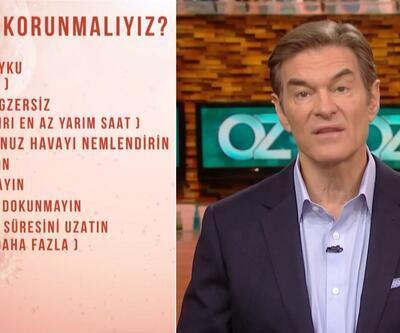 Dr. Mehmet Öz'den koronavirüsten korunma yolları