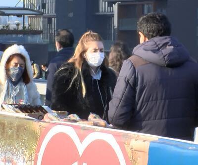 Metrobüslerde maskeli önlem devam ediyor