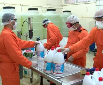 Diyarbakır Cezaevinde çamaşır suyu üretiliyor
