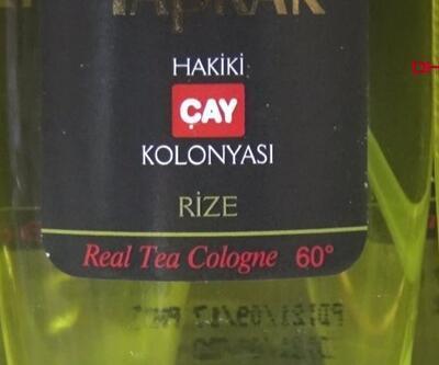 Rize'de çay, İzmir'de zeytin kolonyasına talep yoğun