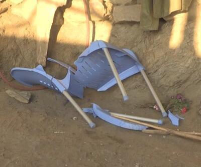 Davetliler çöken zeminle aşağı düştü: 15 yaralı