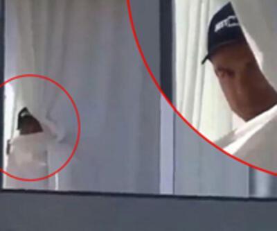 Ronaldo karantinada görüntülendi