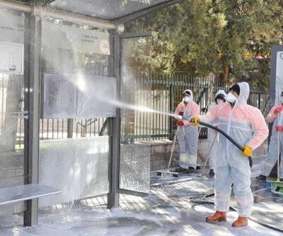 Çankaya'da virüse karşı önlem