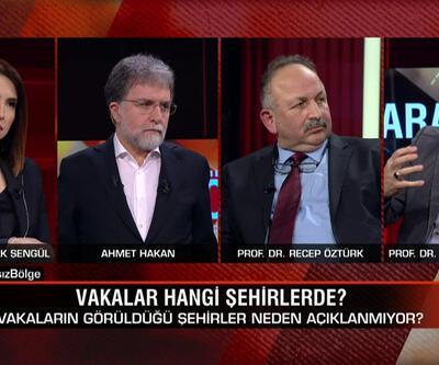 Recep Öztürk, Sinan Canan ve Melih Us, Tarafsız Bölge'de koronavirüs sorularını yanıtladı