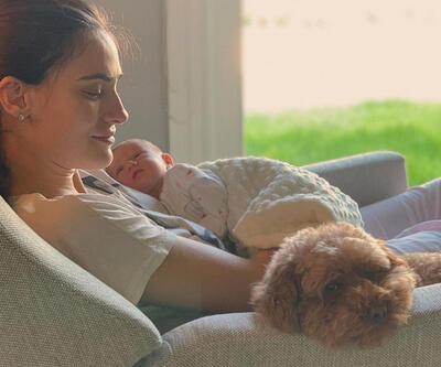 Saadet Işıl Aksoy bebeğinin yüzünü gösterdi
