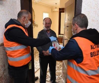 Altındağ'da 60 yaş üstü vatandaşlara alışveriş desteği başladı