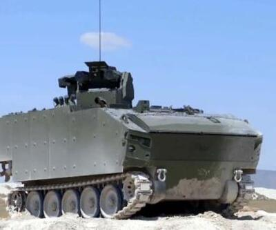 6 adet Kaplan STA kara kuvvetlerine teslim edildi