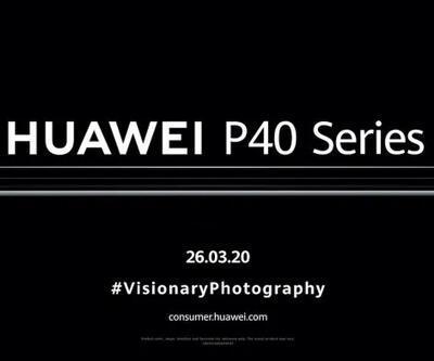 Huawei P40 YouTube üzerinden tanıtılacak