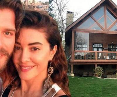 Kıvanç Tatlıtuğ ve eşi Başak Dizer, Kemerburgaz'daki evine kapandı