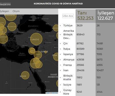 Cumhurbaşkanlığı koronavirüs bilgilendirme sitesi açtı