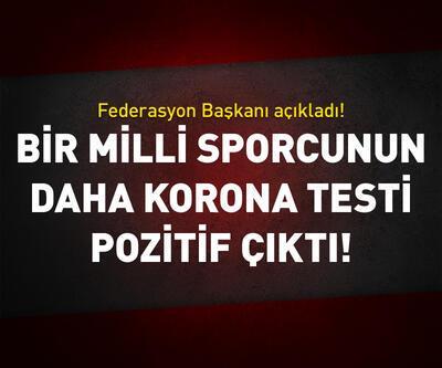 Bir Türk boksörün daha testi pozitif çıktı