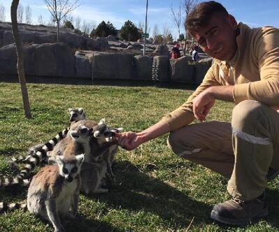 Eskişehir hayvanat bahçesinde doğum heyecanı