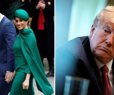 """ABD Başkanı Trump, Harry ve Meghan çiftine seslendi: """"Duydum ki buraya gelmişsiniz"""""""