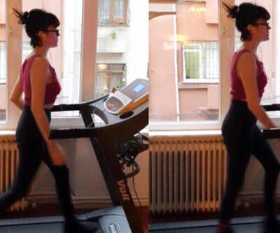 Gonca Vuslateri: Her gün spor yapıyorum