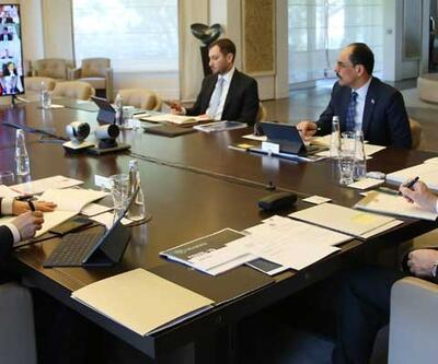 Cumhurbaşkanlığı Kabinesi'nin toplantısı sona erdi