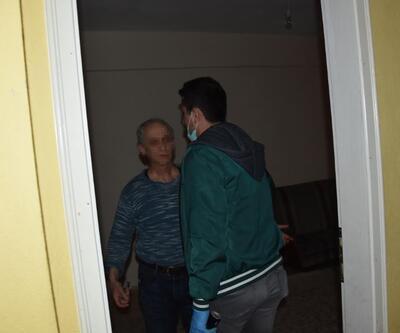 Taciz şüphelisi kendini eve kilitledi