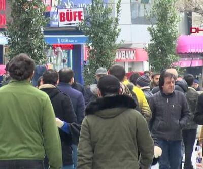 'Sosyal mesafesiz' pazar